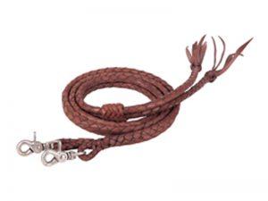 weaver-braided-latigo-split-reins