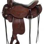 14inch to 17inch Circle Y Julie Goodnight Wind River Flex2 Trail Saddle 1750