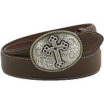 Ladies Brown Belt by Nocona