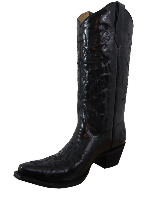women-s-circle-g-black-cross-boots-l5060