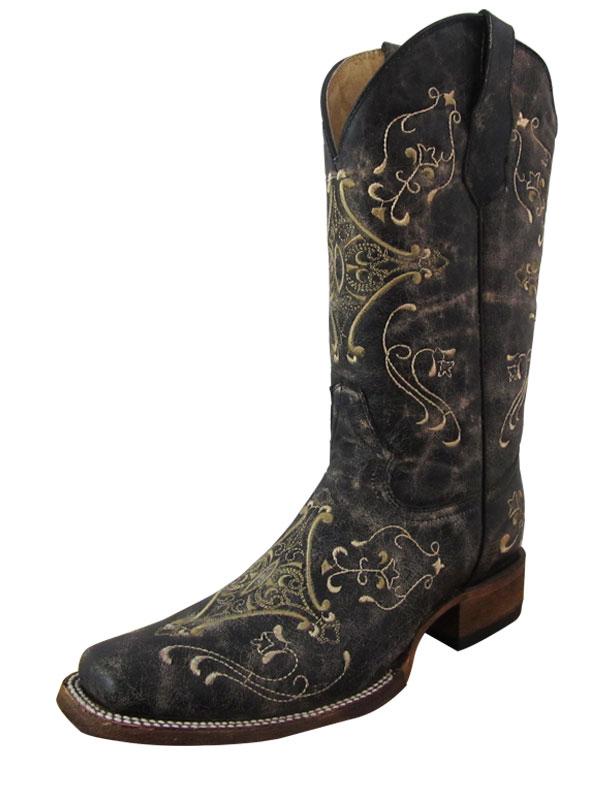 womens-circle-g-crackle-bone-boots-l5078