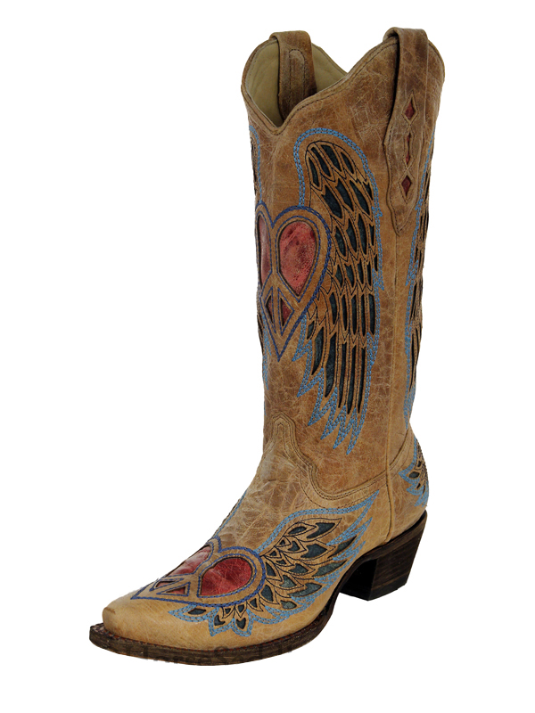womens-corral-boots-blue-jean