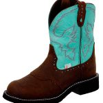Justin Boots Womens Justin Gypsy Turquoise Cow Boots