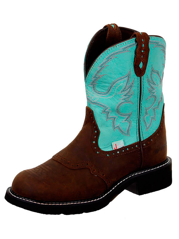 womens-justin-boots-l9915-turquoise