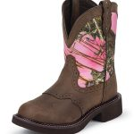 Justin Boots Womens Justin Gypsy Pink Camo Boots L9610
