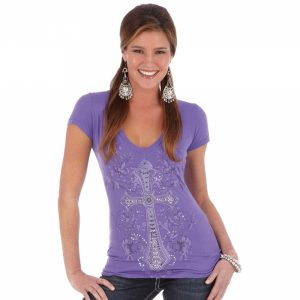 womens-wrangler-purple-cross-tee