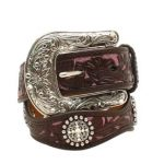 youth-ariat-pink-brown-flower-overlay-belt-a1301802